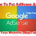 How To Put AdSense Ads On Your Page -Fully Explained