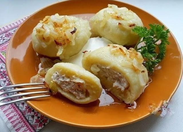 Картофельные галушки фото-рецепт