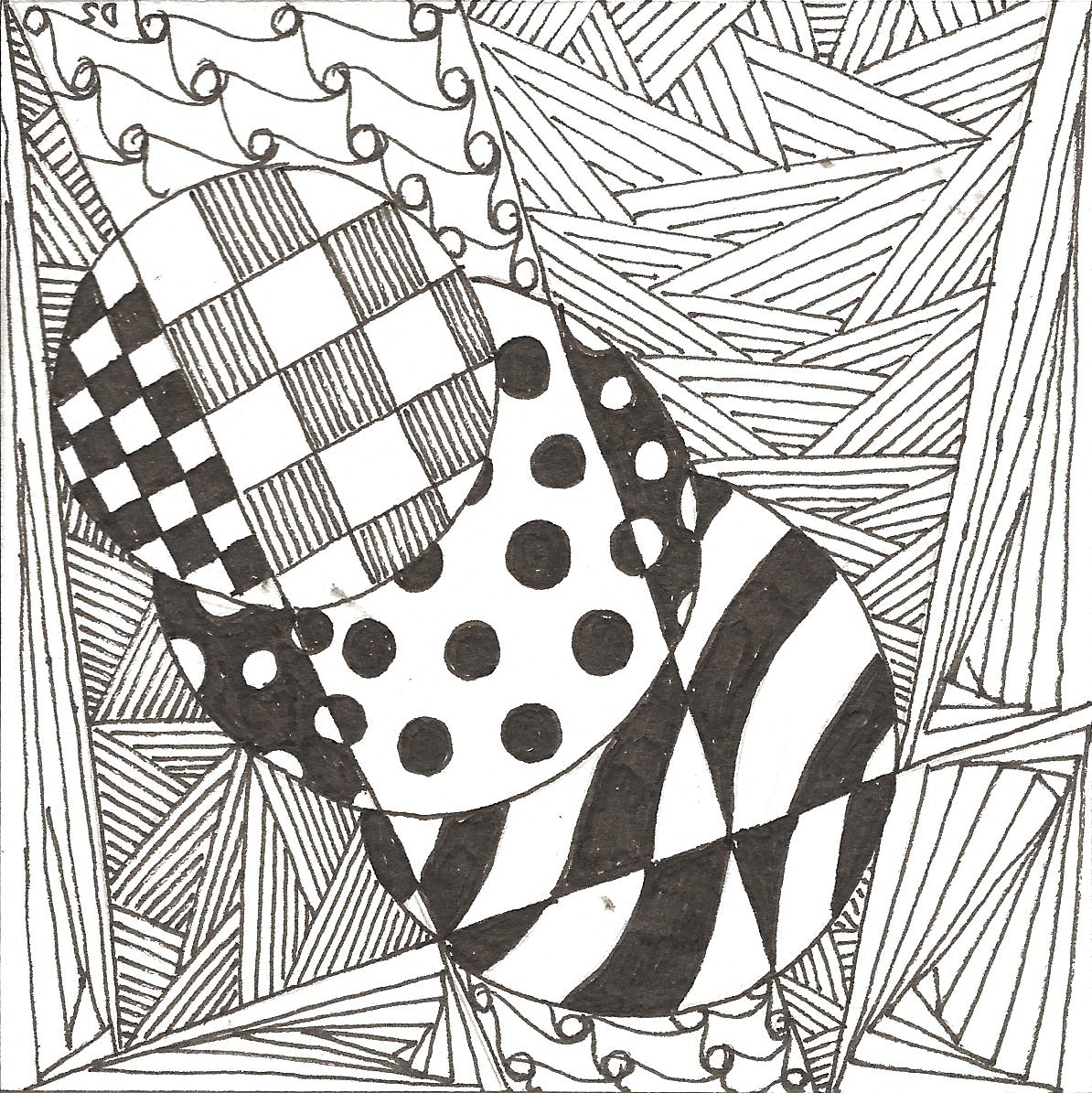 Images of Easy Zentangle Patterns In Circles - industrious info