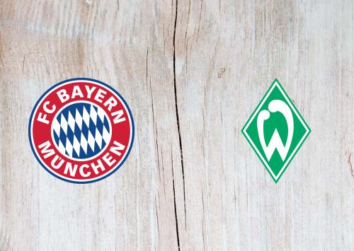Bayern Munich vs Werder Bremen -Highlights 21 November 2020