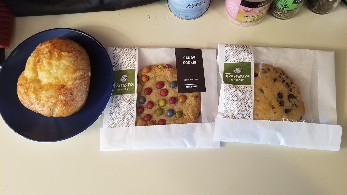 Bakery goods from Panera Bread