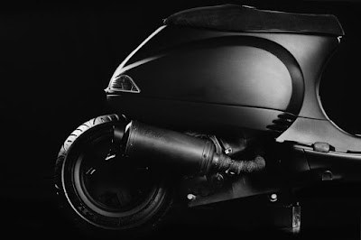 Vespa LX Custom Seat by Butcher Garage