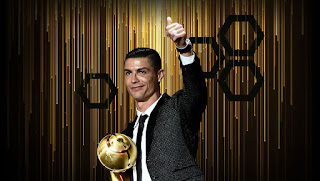 #Ronaldo #crowned #Globe #Soccer #Awards' #Best #Player of the #Year for #2019. #CR7