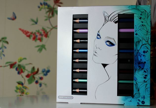 British Beauty Blogger Eye Pencil Kit