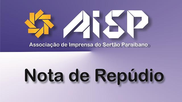 AISP emite Nota de Repúdio em defesa do jornalista Izaias Nóbrega