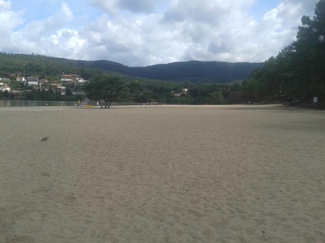 Areal da Praia Fluvial da Lomba - Gondomar