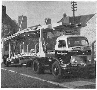 Dunns of Sunderland Delivery Truck February 1960