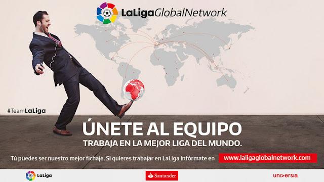 10.000 candidatos de 127 países en LaLiga Global Network
