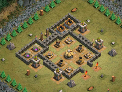 Goblin Base Clash of Clans Arrow Head