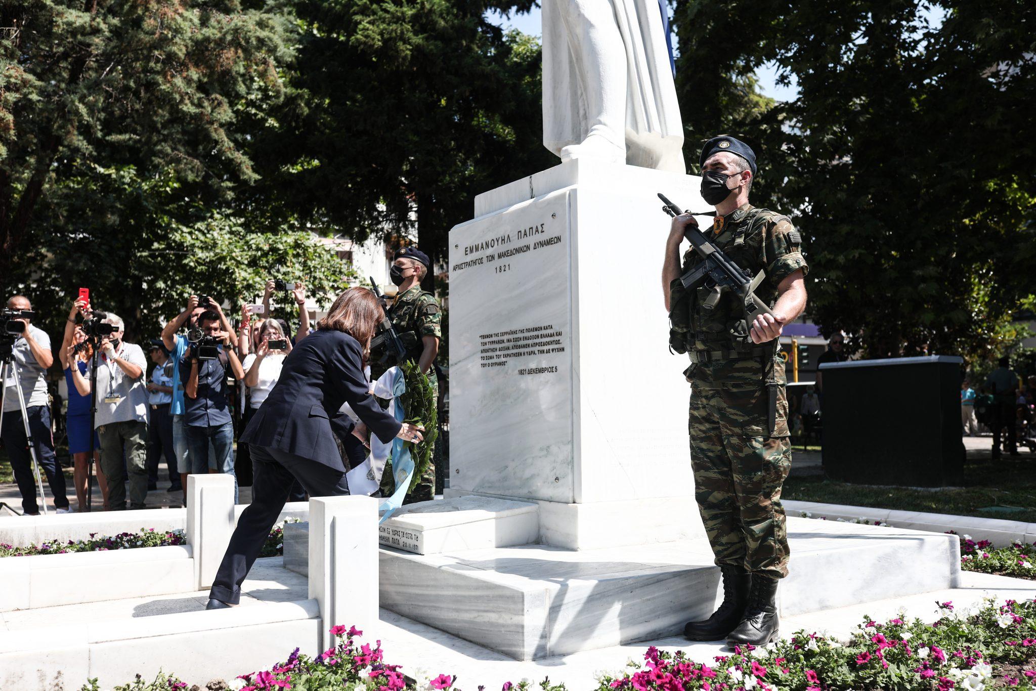 ΠτΔ: Η απελευθέρωση των Σερρών μας εμπνέει και μας εμψυχώνει