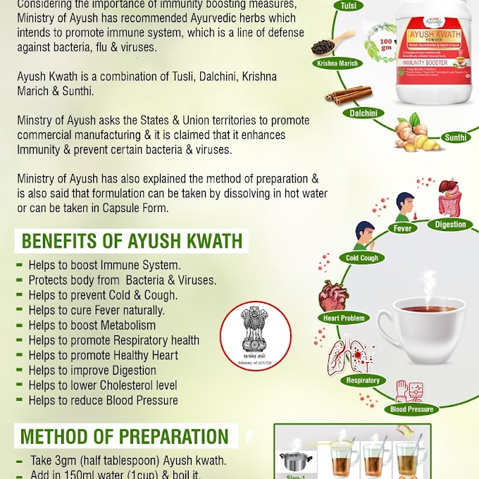 Ayush Kwath Product for Immunity Booster