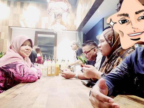 Makan di Nandos, Queensbay Mall, Penang