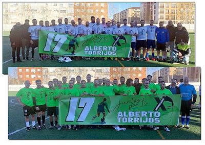 Homenaje Alberto Torrijos Fútbol Aranjuez