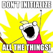Web Dev .NET: Don't Initialize All the Things in jQuery.ready()