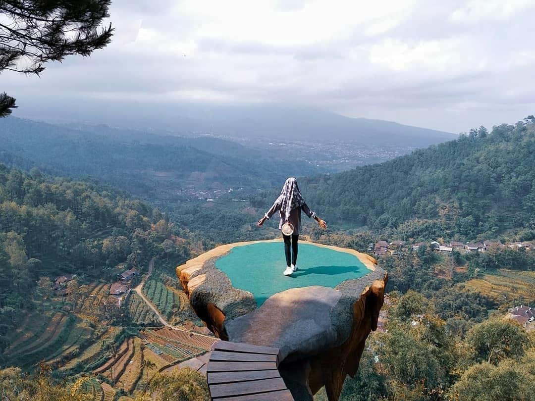 Spot Foto Wisata Paralayang Batu Malang