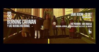 Burning Caravan y Dani Boom: Nuevas Historias 2