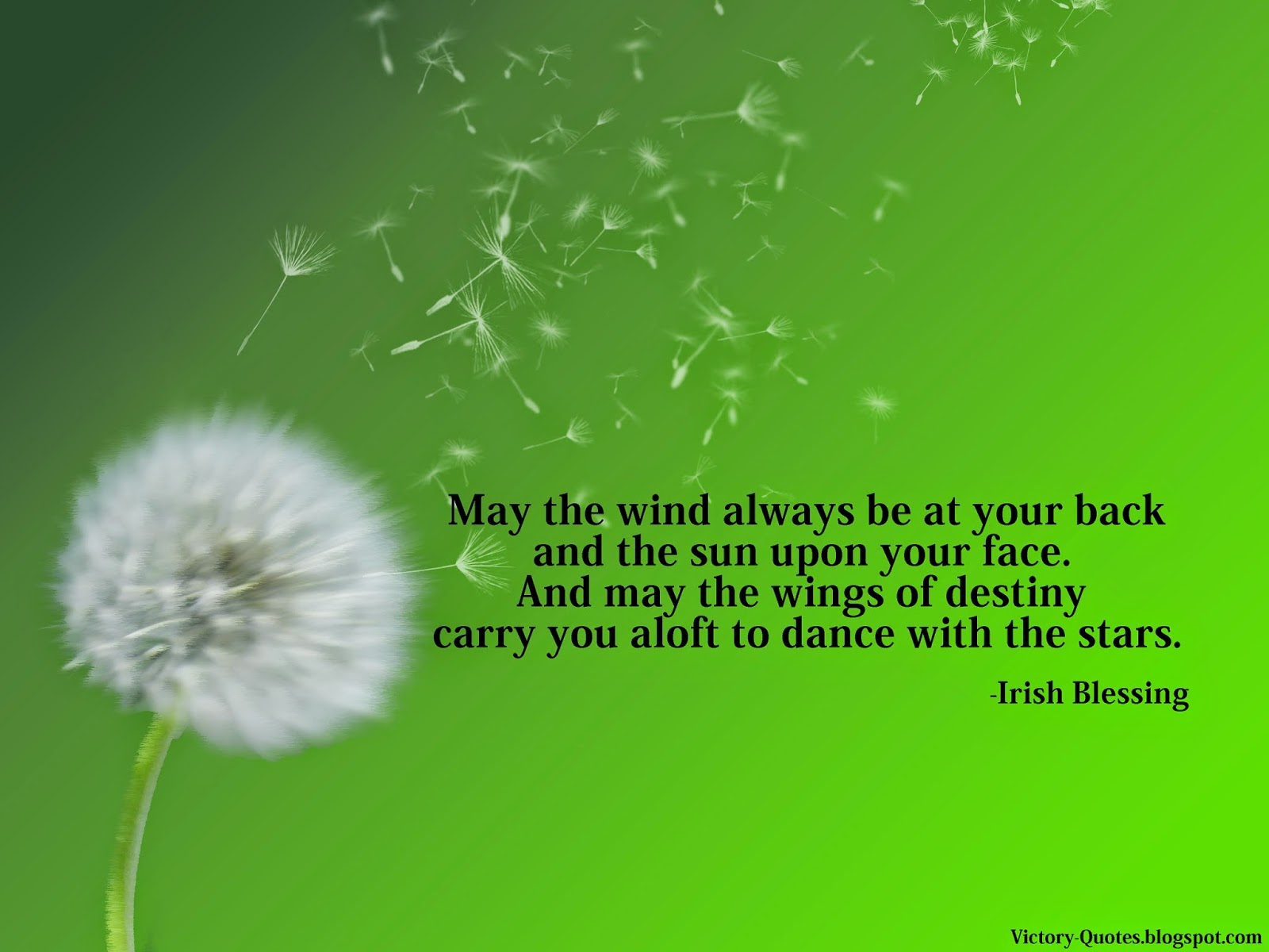 Victory Quotes May The Wind Always Be At Your Back