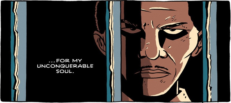Invictus: a comic tribute to Nelson Mandela, by Gavin Aung