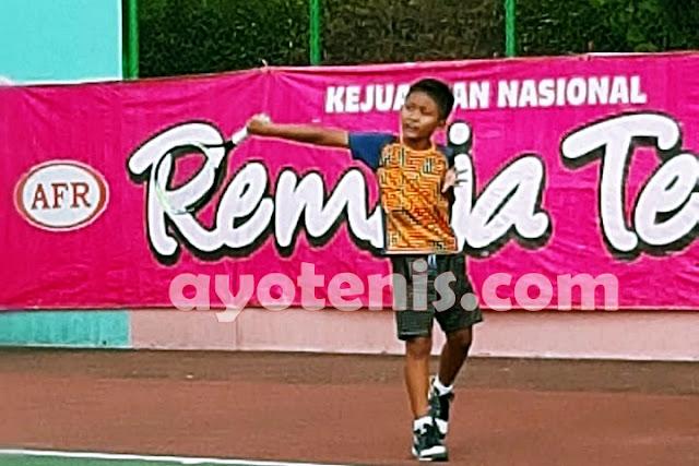 Keanu Sinclair Liem Juara RemajaTenis Bandung I Tahun 2020