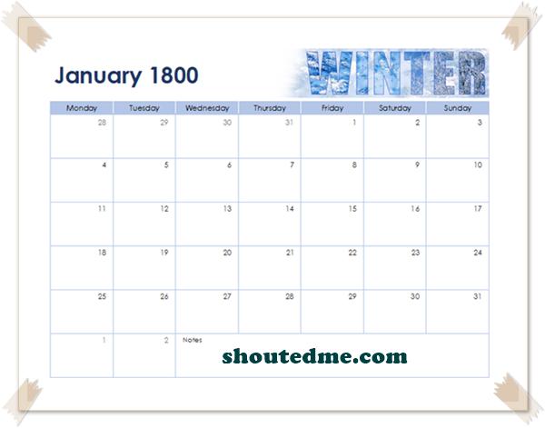januari 1800