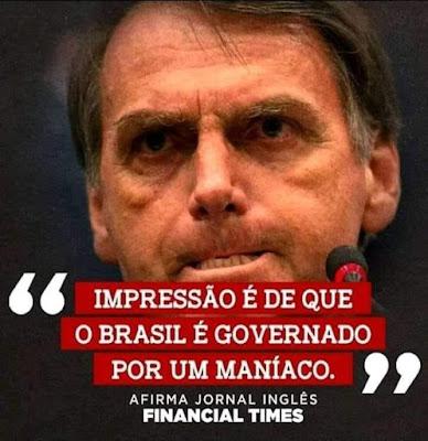 Bolsonaro, um anão ético e moral