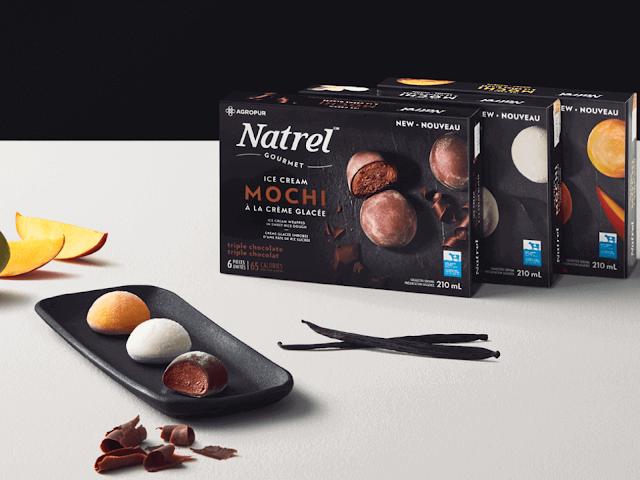 mochi crème glacée Natrel