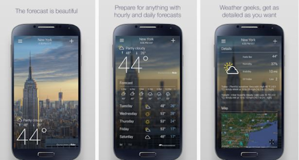 Best Weather App for Europe