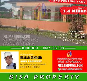 rumah dengan halaman luas di daerah marindal medan  <del>Rp 1.500.000.000,-</del> <price>Rp 1.400.000.000,-</price> <code>MH001</code>