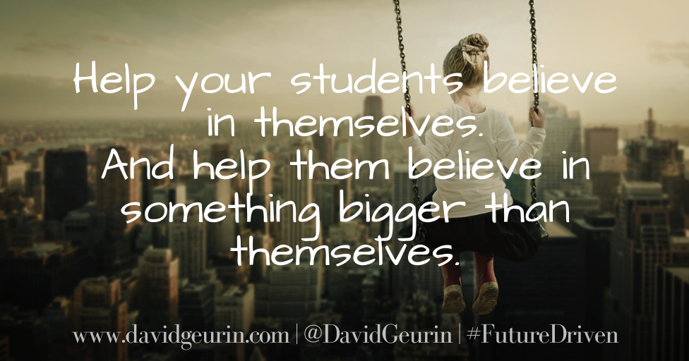 The @DavidGeurin Blog: Do You View Students as Possibilities or Probabilities?