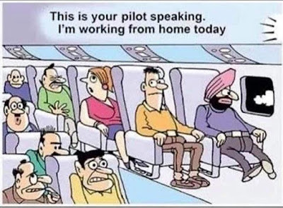 This is your pilot speaking...