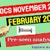 OCS November 2020 & February 2021 - CIMA Operational case study  - Pre-seen video analysis - Amazing Beds