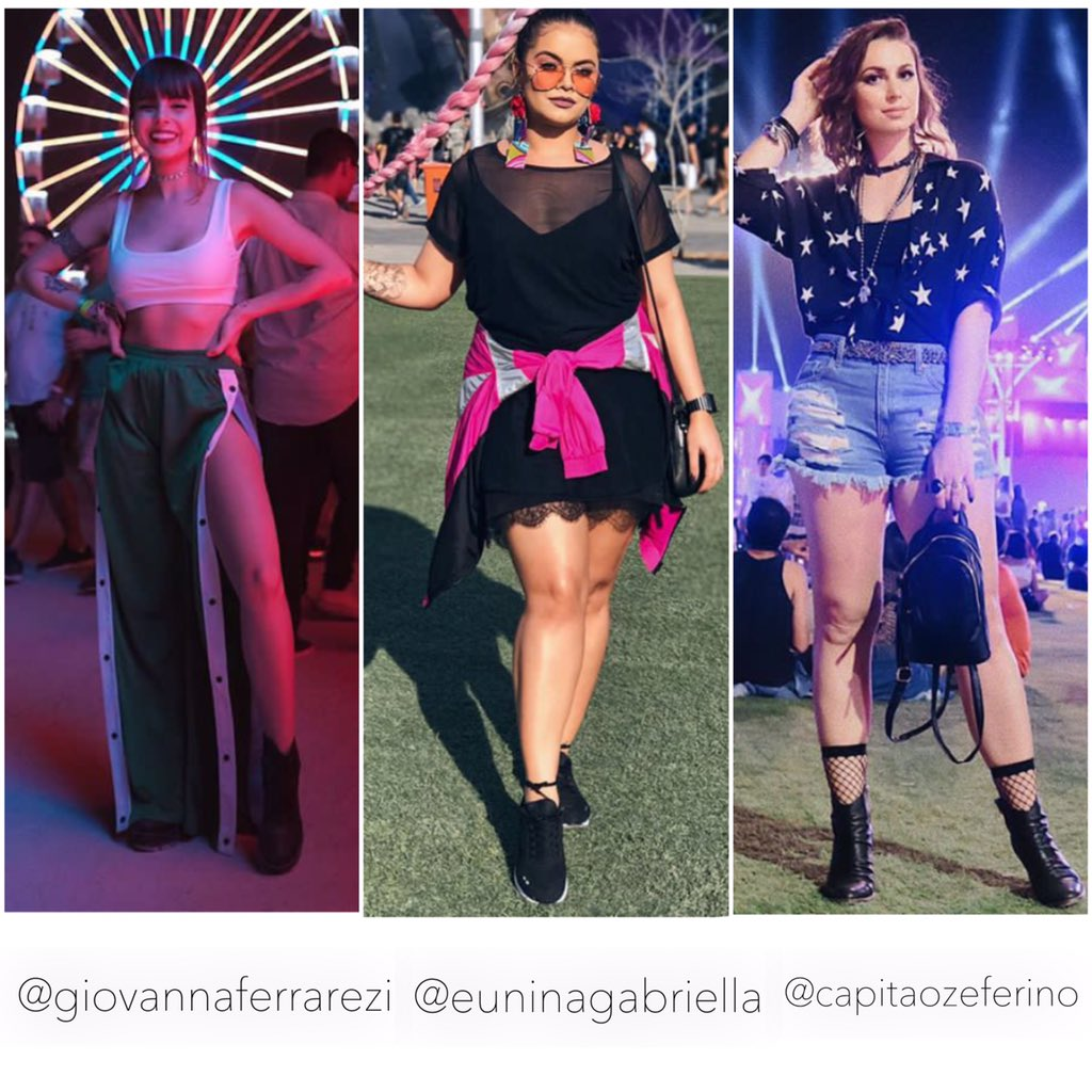 ccc17e75f Rock in rio  Analisando Looks parte 2  itgirls - Marcelo Rodrigues