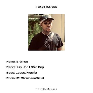Brainee | Top 20 On Diva9ja
