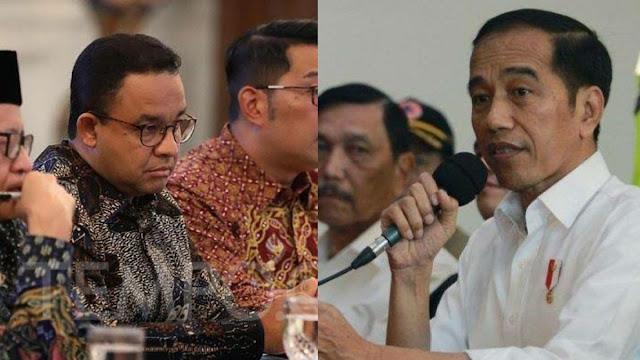 Anies Tak Bisa Sampaikan Pendapat soal UU Ciptaker saat Rapat dengan Jokowi