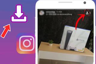 como descargar historia de Instagram