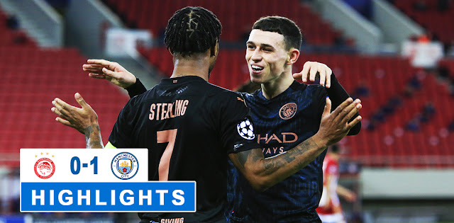 Olympiakos Piraeus vs Manchester City – Highlights