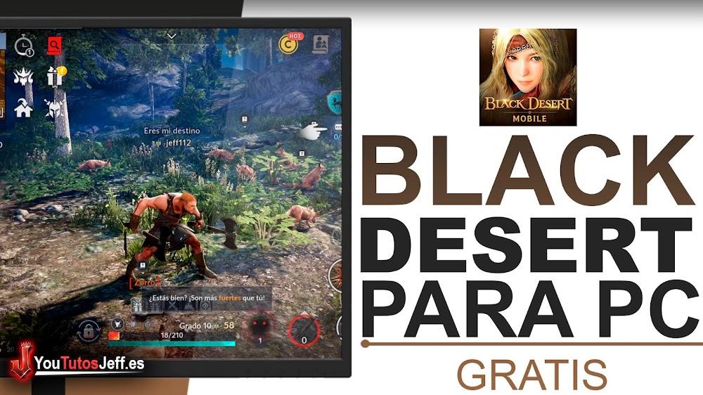 Como Descargar Black Desert Mobile para PC SIN LAG ✌