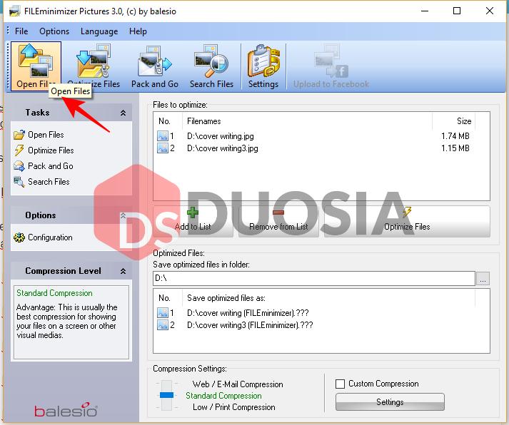 software untuk kompres foto