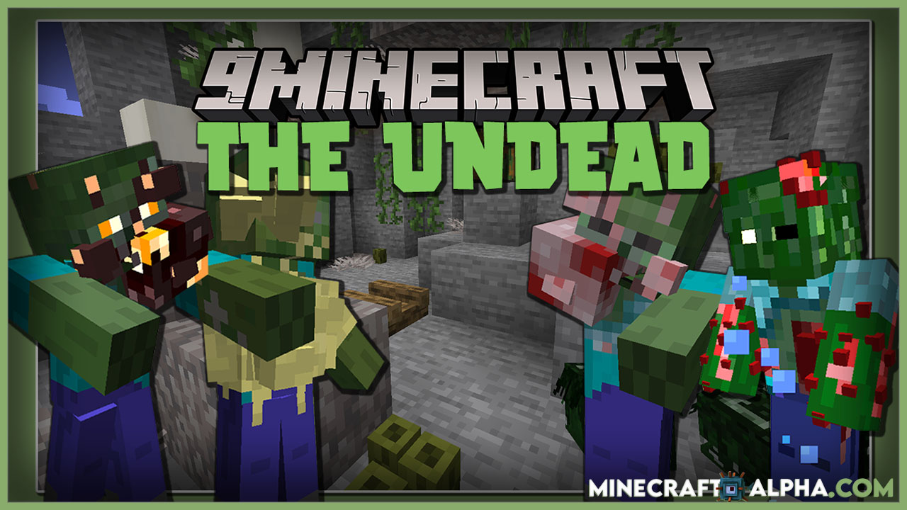 Minecraft The Undead Mod For 1.16.5 (Zombie And More Entities)