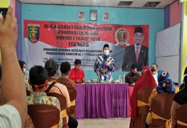 Wahrul Fauzi Sosperda Tahun 2016