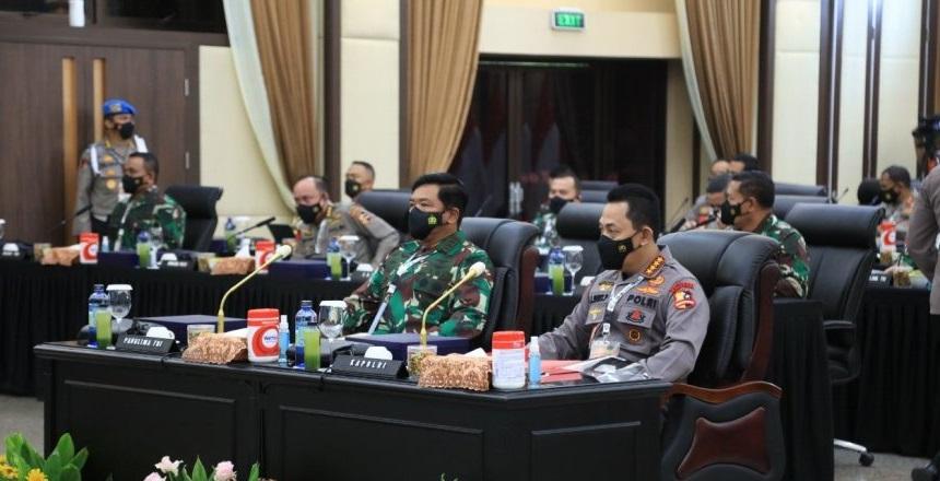 Rapim TNI-Polri 2021 Bahas Pemulihan Ekonomi Nasional