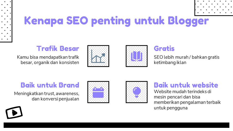 Cara Kerja SEO di Website Blogger.com
