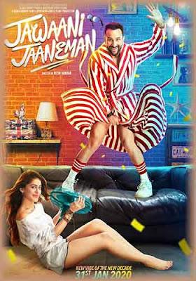 Jawaani Jaaneman 2020 Hindi-PreDVD 480p 200MB Poster