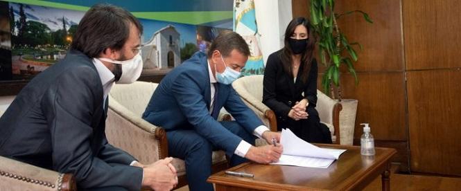 San Rafael es el primer municipio en acceder a un préstamo coparticipado por la Provincia a través del FFDP