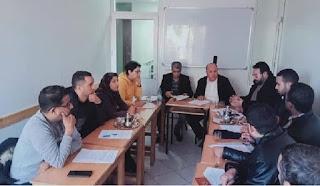 """رابطة الأساتذة تتهم صحفيين وسياسين بـ""""الحقد"""" على نساء ورجال التعليم"""