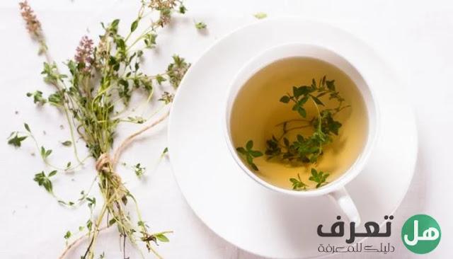 الفوائد الصحية لشاي الزعتر .. وصفات لاستخدامه لانقاص الوزن