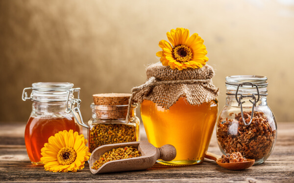 cách dùng mật ong