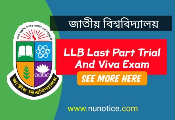 LLB last part viva 2019