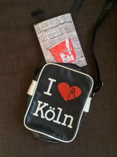 "I love Köln, co tu dużo mówić... ""Erasmus Deutsch"" Jacek Kafel, fot. paratexterka ©"