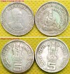 Sale: Rupees 5 Indian coins, 8th World Tamil Conference Saint Thiruvalluvar, Dadabhai Naoroji